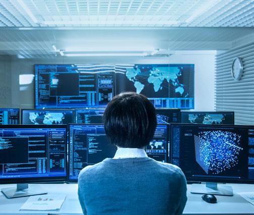 コムスクエア監視運用サービスのイメージ画像